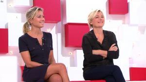 Anne-Sophie Lapix et Anne-Elisabeth Lemoine dans Vivement la télé - 02/10/16 - 07
