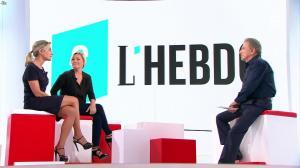 Anne-Sophie Lapix et Anne-Elisabeth Lemoine dans Vivement la Télé - 02/10/16 - 09