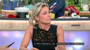 Anne-Sophie Lapix dans C à Vous - 03/10/16 - 01
