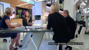 Anne-Sophie Lapix dans C à Vous - 30/09/16 - 04