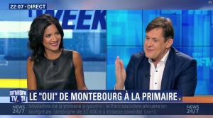 Aurélie Casse dans Week End Direct - 02/10/16 - 02