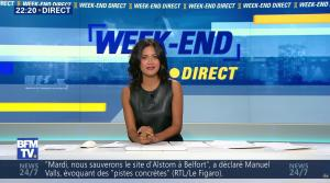 Aurélie Casse dans Week-End Direct - 02/10/16 - 08