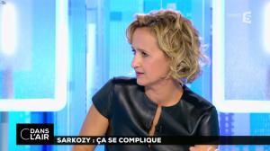 Caroline Roux dans C dans l'Air - 10/10/16 - 08