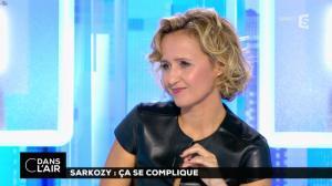 Caroline Roux dans C dans l'Air - 10/10/16 - 29
