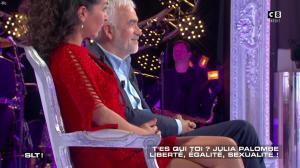 Julia Palombe dans Salut les Terriens - 17/09/16 - 09
