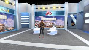 Karine Ferri dans Euro Millions - 02/09/16 - 06