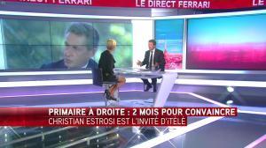 Laurence Ferrari dans le Direct Ferrari - 19/09/16 - 19