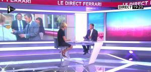 Laurence Ferrari dans le Direct Ferrari - 29/09/16 - 09