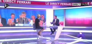 Laurence Ferrari dans le Direct Ferrari - 29/09/16 - 11
