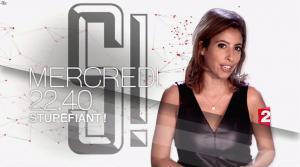 Léa Salamé dans Bande Annonce de Stupefiant - 24/09/16 - 02