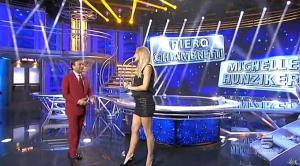 Michelle Hunziker dans Striscia la Notizia - 04/10/14 - 01