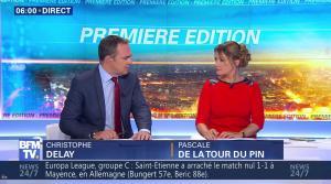 Pascale De La Tour Du Pin dans Premiere Edition - 16/09/16 - 07