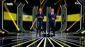 Sandrine Quétier dans 50 Minutes Inside - 01/10/16 - 07