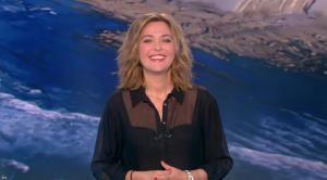 Sandrine Quétier lors du Tirage du Loto - 12/10/16 - 01