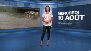 Tatiana Silva à la Météo - 10/08/16 - 01
