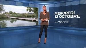 Tatiana Silva à la Météo du Soir - 12/10/16 - 01