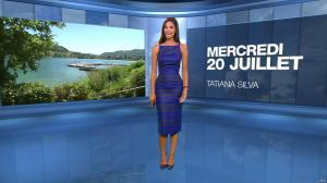 Tatiana Silva à la Météo du Soir - 20/07/16 - 01