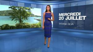 Tatiana Silva à la Météo du Soir - 20/07/16 - 02