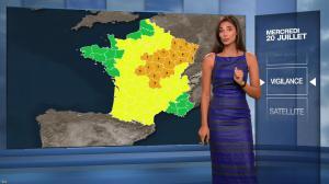 Tatiana Silva à la Météo du Soir - 20/07/16 - 03
