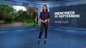 Tatiana Silva à la Météo du Soir - 28/09/16 - 01