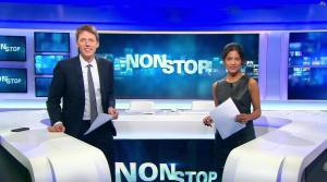 Aurélie Casse dans Non Stop - 18/10/17 - 14