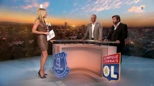 Carine Galli lors de la Soirée Europa League - 19/10/17 - 07
