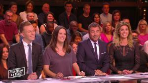 Caroline Ithurbide dans c'est Que de la Télé - 18/10/17 - 02