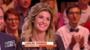 Caroline Ithurbide dans c'est Que de la Télé - 18/10/17 - 03