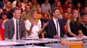 Caroline Ithurbide dans c'est Que de la Télé - 19/10/17 - 03