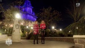 Caroline Ithurbide et Justine Fraioli dans le Bêtisier de Halloween - 26/10/17 - 01
