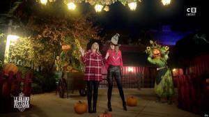 Caroline Ithurbide et Justine Fraioli dans le Bêtisier de Halloween - 26/10/17 - 03