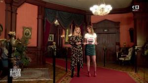 Caroline Ithurbide et Justine Fraioli dans le Bêtisier de Halloween - 26/10/17 - 08