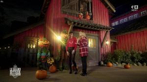Caroline Ithurbide et Justine Fraioli dans le Bêtisier de Halloween - 26/10/17 - 10