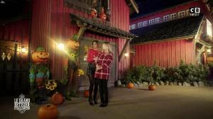 Caroline Ithurbide et Justine Fraioli dans le Bêtisier de Halloween - 26/10/17 - 11