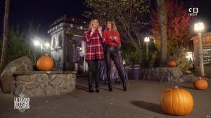 Caroline Ithurbide et Justine Fraioli dans le Bêtisier de Halloween - 26/10/17 - 12