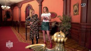 Caroline Ithurbide et Justine Fraioli dans le Bêtisier de Halloween - 26/10/17 - 44