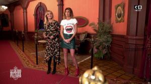 Caroline Ithurbide et Justine Fraioli dans le Bêtisier de Halloween - 26/10/17 - 49