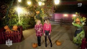 Caroline Ithurbide et Justine Fraioli dans le Bêtisier de Halloween - 26/10/17 - 52
