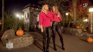 Caroline Ithurbide et Justine Fraioli dans le Bêtisier de Halloween - 26/10/17 - 55
