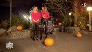Caroline Ithurbide et Justine Fraioli dans le Bêtisier de Halloween - 26/10/17 - 60