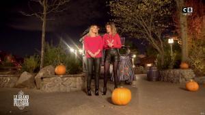 Caroline Ithurbide et Justine Fraioli dans le Bêtisier de Halloween - 26/10/17 - 61