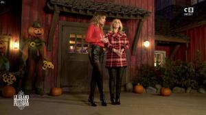 Caroline Ithurbide et Justine Fraioli dans le Bêtisier de Halloween - 26/10/17 - 64