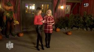 Caroline Ithurbide et Justine Fraioli dans le Bêtisier de Halloween - 26/10/17 - 65