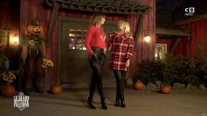 Caroline Ithurbide et Justine Fraioli dans le Bêtisier de Halloween - 26/10/17 - 66