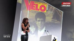 Estelle Denis dans Ceremonie du Velo d'Or - 17/10/17 - 06