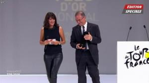 Estelle Denis dans Ceremonie du Velo d'Or - 17/10/17 - 09