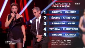 Sandrine Quétier dans Danse avec les Stars - 21/10/17 - 15