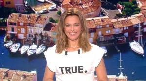 Sandrine Quétier lors du Tirage du Loto - 11/10/17 - 01