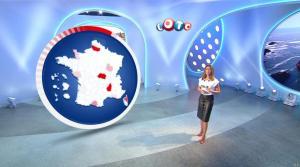 Sandrine Quétier lors du Tirage du Loto - 11/10/17 - 03