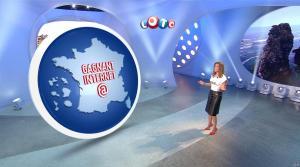 Sandrine Quétier lors du Tirage du Loto - 11/10/17 - 04